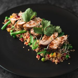 Cajun Chiecken Meal from Nourished For Life. healthy, pre-made meals, delivred to Wanaka