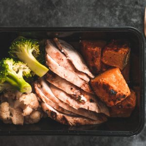 Chicken Performance Meal from Nourished For Life. healthy, ready made meals