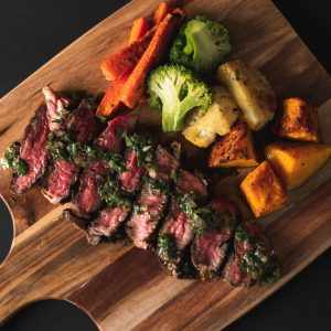 Steak Meal from Nourished For Life. healthy, pre-made meals