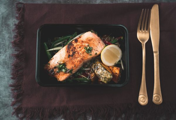 Salmon ready meal – Wanaka pre-cooked meals
